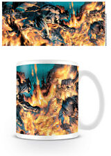 NEW! BATMAN FLAMES MUG