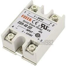 New Single Phase Solid State Relay DC-DC SSR-40DD 40A DC3-32V DC5-60V