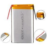 3.7V 10000mAh LiPo Polymer li-ion Battery Cell For Power Bank Case Mobile