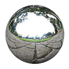 Garden Stainless Gazing Balls Metal Ball Globes Floating Pond Decor 13.5cm