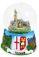 Cochem Reichsburg Mosel Schneekugel Souvenir Germany Snowglobe