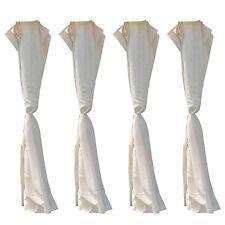 Set di tende giardino per gazebo pezzi di ricambio per gazebo 3x2 metri h 1,98 m