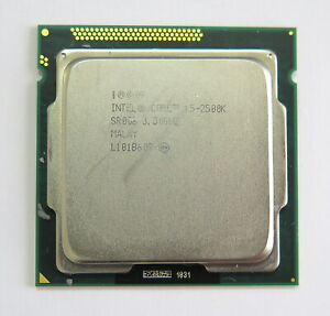 Intel Core i5-2500K Prozessor - CPU mit 3.30GHz