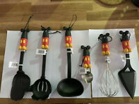 Disneyland Paris Lot De 6 Ustensiles Cuisine Kitchen Utensils Neuf New Cooking