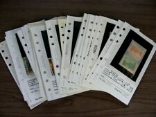 NORFOLK, PAPUA NEW GUINEA &, Excellent assortment of Stamps in dealer pages