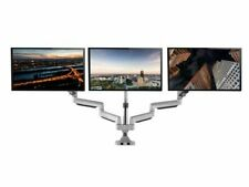 "TechOrbits Three Monitor Desk Mount Smart Swivel MAA-0336 most 13""-32"" screens"