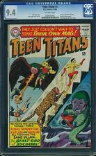 Teen Titans #1 CGC 9.4 DC 1966 Batman, Aquaman, Wonder Woman! E9 261 cm clean