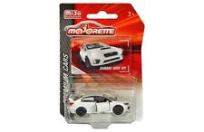 Majorette 1/64 Premium Cars Subaru WRX STI (White) Diecast Model Car 3052MJ1