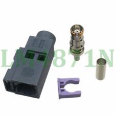 1pce Connector Fakra G 7031 Grey SMB female jack crimp RG174 RG316 LMR100 cable