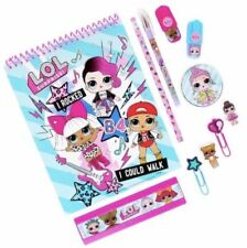12 Pcs LOL Surprise Doll Stationery Set Journal Book Lot Dolls Kitty Queen Bee