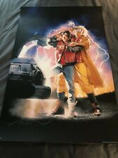 Back To The Future Ii Drew Struzan Signed Screen Print Artists Proof