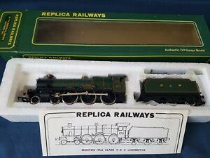 "REPLICA 11151 GWR GREEN 4-6-0 MODIFIED HALL ""GRAYTHWAITE HALL"" 6976 MINT BOXED"