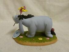 Walt Disney Winnie Pooh Friends Waiting For Second Wind Eeyore Figurine 4009039