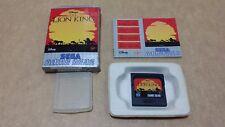 The Lion King ( Sega Game Gear ) European Version PAL