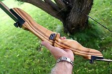 """Monarch recurve 20lb 58"""" takedown bow with bowstringer RH"""