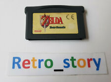 Nintendo Game Boy Advance GBA - Legend Of Zelda A Link To The Past & Four Swords