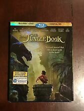 The Jungle Book (2016) *NEW* Blu-ray+DVD+Digital HD w/ Slipcover Brand New