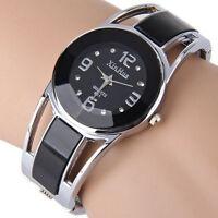 Girl's Watch Bracelet Design Quartz Watch Rhinestone Dial Stainless Steel Band