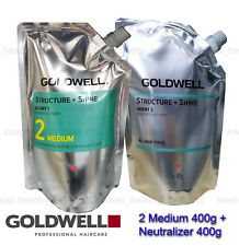 Goldwell Structure + Shine Two 400g plus Neutralizer 400g FREE Post tracking