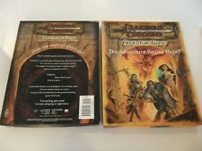 DUNGEONS & DRAGONS - THE ADVENTURE BEGINS HERE! - Complete Box Set game D&D