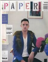 Paper Magazine Brandon Flowers Art Issue October 2009 100819nonr