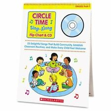Scholastic Circle Time Sing-along Flip Chart & Cd Education Printed/electronic