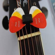 Classique Guitare Tête Porte-Poignée Rubber Avec 4 Picks Gratuits Picks Guitare