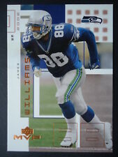 NFL 214 James Williams Seattle Seahawks Upper Deck MVP 2002