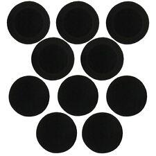 "On-Ear Cushions 60mm/2.4"" Foam Ear Pads Headphone Headset Covers Round 5 Pairs"