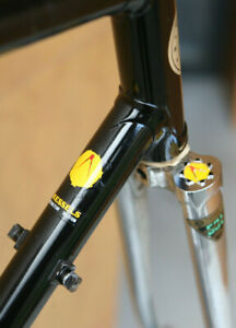 Vintage Belgian Kessels Reynolds 531 steel frame frameset Campagnolo Merckx 54cm