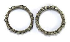 – Vintage Mothers Day Gift G18-64 Us Retro Design Indian Women Iron Bangle Pair