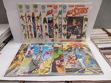 Young All-Stars DC Comic Books 1-11 & Annual 1 Hawkman Dr. Fate Green Lantern