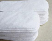 Reusable Lavable couche de tissu Nappy Hemp Bamboo Charcoal Insert SJ