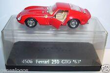 SOLIDO FERRARI 250 GTO 1963 LE MANS REF 4506 IN BOX 1/43 SEPTEMBRE 1985 1/43 BOX