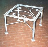 Tavolo Pranzo Tavolino Salotto FERRO BATTUTO  Realizzazioni Personalizzate . 684