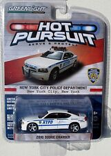 GREENLIGHT HOT PURSUIT SERIES 12 2010 DODGE CHARGER NEW YORK CITY POLICE DEPT