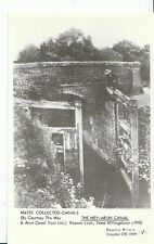 Canal Postcard - The Wey-Arun Canal - Rowner Lock - Near Billingshurst 1900 U853