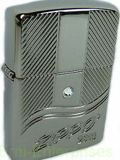 Zippo año Gang modelo 2013 Limited Armor case Black Ice xxx/750, nuevo 2003783