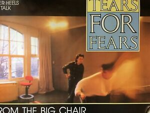 Tears For Fears Songs From The Big Chair Rare Promo Poster 1985 New Wave NOS