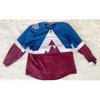 NEW Colorado Avalanche Adidas Stadium Series NHL Hockey Jersey GF0781 Size 58