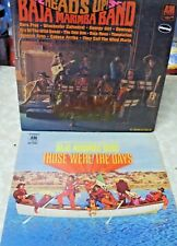 (2) BAJA MARIMBA BAND Those Were The Days & Heads Up LP Records