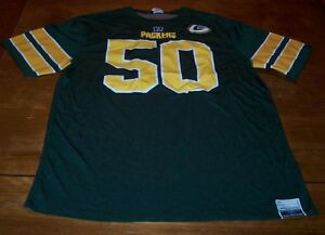 GREEN BAY PACKERS FOOTBALL NFL REVERSIBLE JERSEY ADULT LARGE