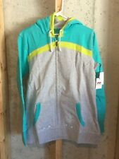 NWT Four Square Stripeswipe Hoodie Sweatshirt XL, Green, GREAT COLORS! $59.99