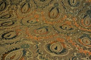Möbelstoff Bezugstoff Polsterstoff Meterware Stoff Jacquard Ornament Barock Rank