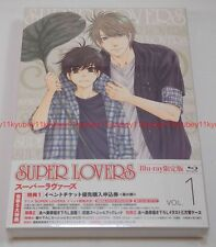 SUPER LOVERS Vol.1 First Limited Edition Blu-ray Radio CD Manga Booklet Japan