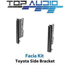 fit Toyota 2 double din Fascia Facia dash kit car stereo side trims Brackets