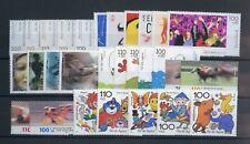BUND Nr.2117-2122 u.a. ** 6 ZUSCHLAGSSERIEN 1998/2000 ME 68,-++ (115116)