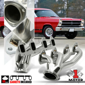 SS Shorty Exhaust Header Manifold for Ford Big Block BBF FE 330/390/406/427 Swap