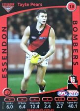 2012 AFL TEAMCOACH ESSENDON BOMBERS TAYTE PEARS #18 COMMON CARD FREE POST