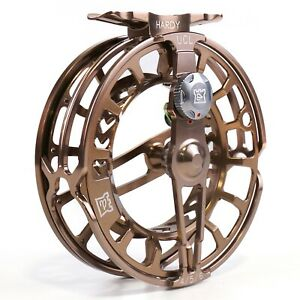 Hardy UltraClick Reel - Bronze - FREE LINE AND BACKING - FREE SHIPPING